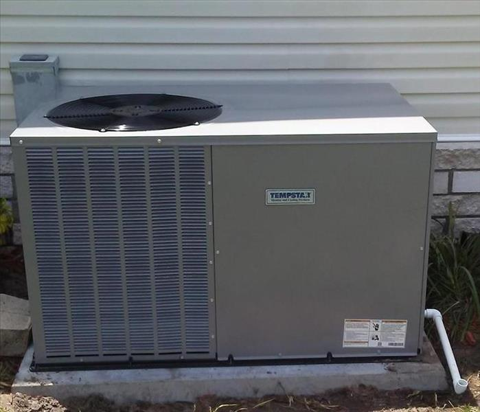 New replaced HVAC Package unit